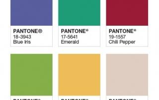 Pantone (PMS) Colour Examples