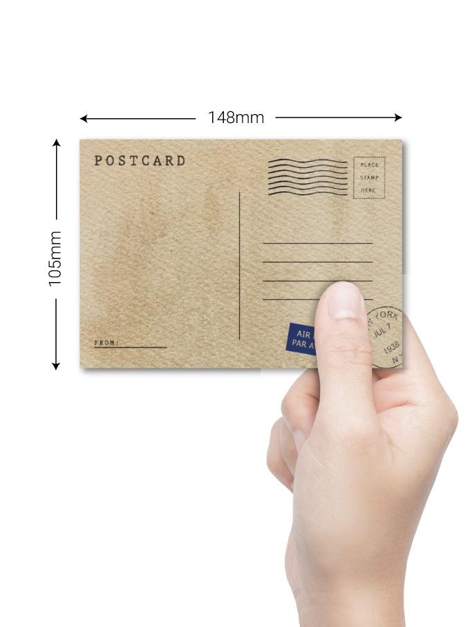A6 Postcard